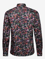 Lindbergh - AOP shirt L/S - chemises décontractées - navy - 2
