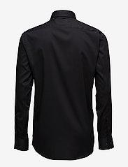 Lindbergh - Basic Shirt L/S - peruspaitoja - black - 1