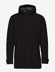 Lindbergh - Functional coat - manteaux legères - black - 2