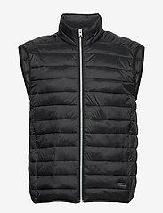 Lindbergh - Light puffer gilet - liivit - black - 0
