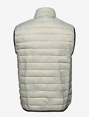 Lindbergh - Light puffer gilet - liivit - lt grey - 2