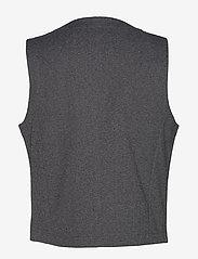 Lindbergh - Knitted waistcoat - waistcoats - grey mix - 2