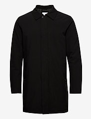 Lindbergh - Technical mac coat - kevyet päällystakit - black - 0