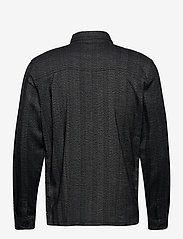 Lindbergh - Herringbone overshirt - yläosat - black mix - 2