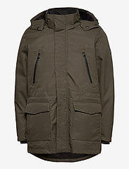 Lindbergh - Technical 3-in-1 jacket - parkatakit - mid army - 2