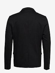 Lindbergh - Superflex knitted blazer - single breasted blazers - black - 2