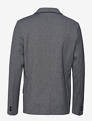 Lindbergh - Superflex knitted blazer - blazers à boutonnage simple - grey mix - 2