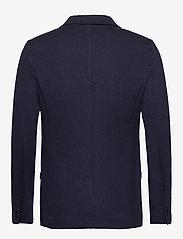 Lindbergh - Superflex knitted blazer - single breasted blazers - navy mix - 2