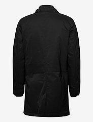 Lindbergh - Twill coat w detachable collar - manteaux legères - black - 3