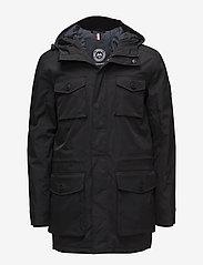Lindbergh - Cargo jacket - doudounes - black - 0