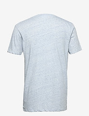 Lindbergh - Neps structure tee S/S - lyhythihaiset - lt blue - 2