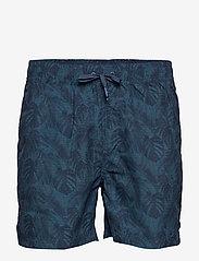 Lindbergh - Holiday swim shorts - swim shorts - dk blue - 1