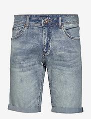 Lindbergh - Denim shorts superflex - farkkushortsit - fresh blue - 1