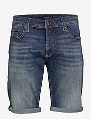 Lindbergh - Denim shorts superflex - farkkushortsit - sun blue - 1