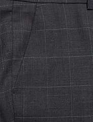 Lindbergh - Checked suit - enkeltkneppede dresser - grey check - 3