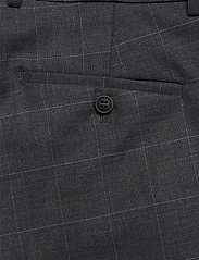 Lindbergh - Checked suit - enkeltkneppede dresser - grey check - 2
