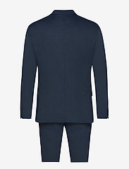 Lindbergh - Structure suit - single breasted suits - blue - 1