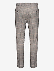 Lindbergh - Checked suit - puvut - brown check - 2