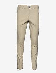 Lindbergh - Cotton linen suit - single breasted suits - sand mix - 2