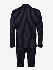 Lindbergh - Striped suit - yksiriviset puvut - dk blue - 2