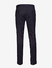 Lindbergh - Striped suit - yksiriviset puvut - dk blue - 4