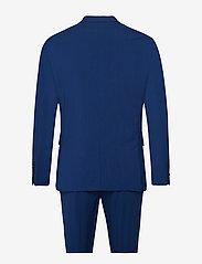 Lindbergh - Plain mens suit - enkeltkneppede dresser - blue - 1