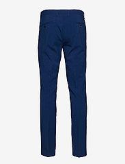 Lindbergh - Plain mens suit - enkeltkneppede dresser - blue - 3