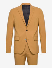 Plain mens suit - CAMEL