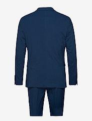 Lindbergh - Plain mens suit - yksiriviset puvut - dk blue - 2