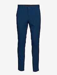 Lindbergh - Plain mens suit - yksiriviset puvut - dk blue - 3
