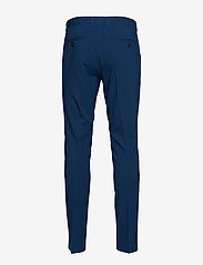 Lindbergh - Plain mens suit - yksiriviset puvut - dk blue - 4