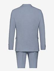 Lindbergh - Plain mens suit - yksiriviset puvut - lt blue - 1