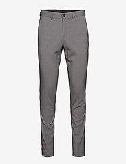 Lindbergh - Plain mens suit - yksiriviset puvut - lt grey - 4