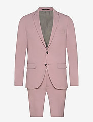 Plain mens suit - LT PURPLE
