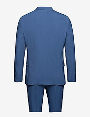 Lindbergh - Plain mens suit - yksiriviset puvut - mid blue - 1
