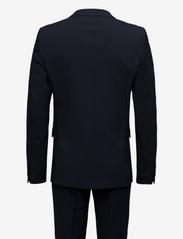 Lindbergh - Plain mens suit - enkeltkneppede dresser - navy - 2