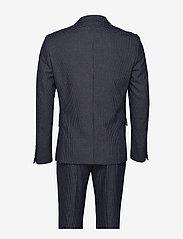 Lindbergh - Checked suit - enkeltkneppede dresser - black - 2