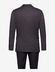 Lindbergh - Pin striped suit - costumes simple boutonnage - dk grey mel - 2
