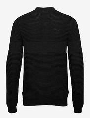 Lindbergh - Structured cardigan - perusneuleet - black - 2