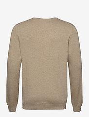 Lindbergh - Mélange round neck knit - perusneuleet - sand mel - 2