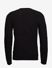 Lindbergh - Structure knit - perusneuleet - black - 2