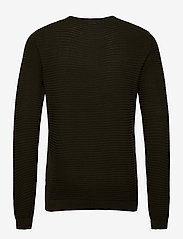 Lindbergh - Structure knit - perusneuleet - dk army - 1
