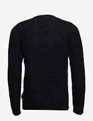 Lindbergh - Structure knit - perusneuleet - navy mel - 2