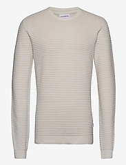 Lindbergh - Structure knit - perusneuleet - off white - 1