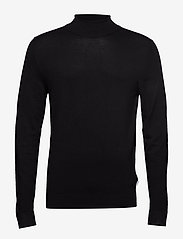 Lindbergh - Roll neck knit - perusneuleet - black - 0