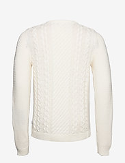 Lindbergh - Cable knit - pulls col rond - off white - 2