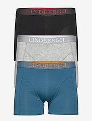 Lindbergh - Basic bamboo boxers 3 pack - underwear - mixed - 0