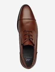 Lindbergh - Classic leather shoe - snøresko - brown - 3