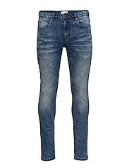 Slim fit jeans - blue tone - BLUE TONE