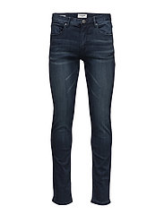 Slim fit jeans - dark blue - DARK BLUE